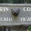 Cabin Cove Entrance Sign