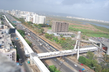 Cable Stayed Bridge At Kharghar