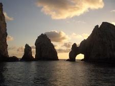The Distinctive El Arco Rock Formation