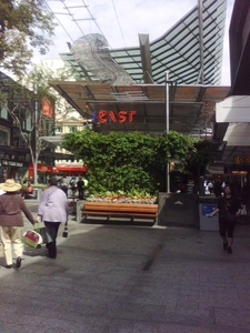 Cafe East, Queen Street Mall