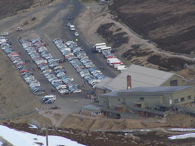 Cairngorm Ski Resort Base Station