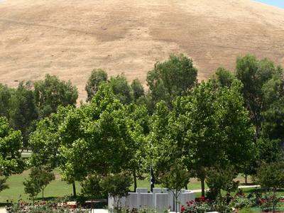 California Korean War Memorial From Hill
