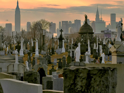 Cementerio Calvary, New York