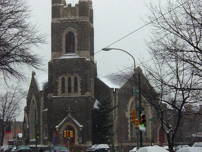 Calvary United Methodist Church In The Snow