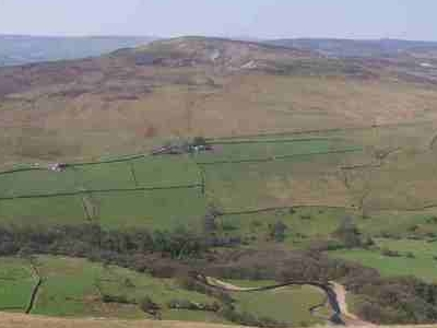 Calver  Hill From  Fremington  Edge