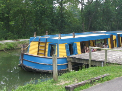 Canal Boat On Miami Erie Canal