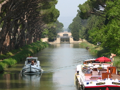 Canal De Jonction At Salleles DAude