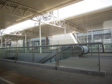 Platforms At Cangzhou West Railway Station