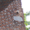 Cannonball Lodged In Church Wall