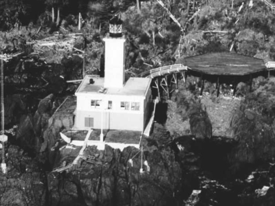 Cape Decision Is A Lighthouse Located On Kuiu Island