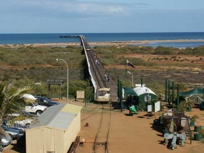 Carnarvon  Jetty Western  Australia