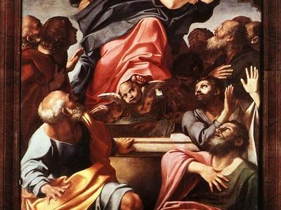 Carracci  Assumption Of The Virgin Mary
