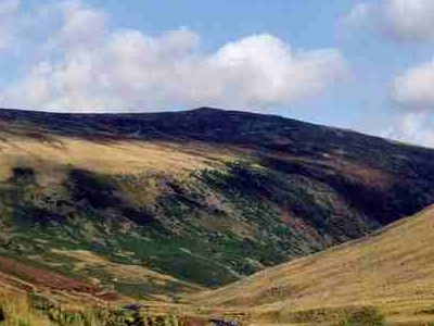 Carrock Fell Seen From Caldew Valley