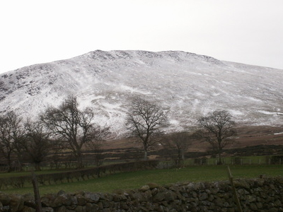 Carrock Fell From North