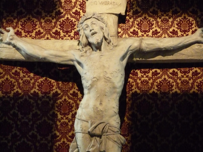 Crucifix Sculpted By Philippe Hebert
