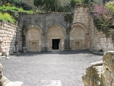 Cave Of Coffins In Beit Shearim National Park