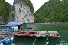 Cat Ba National Park Barge