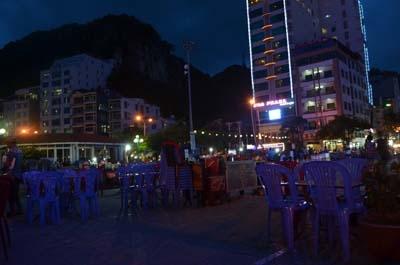 Cat Ba Restaurant At Night