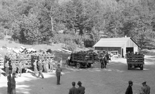Civilian Conservation Corps Crews At Rand In 1935