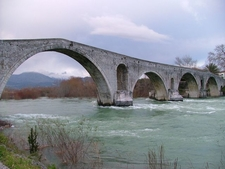 The Arachthos River In Arta