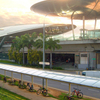 Unique Structure Of Expo MRT Station
