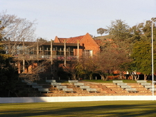 The Schools Main Oval And Breezeway