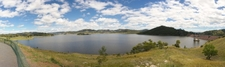 Chaffey Dam As Viewed From Lookout On Nundle Road