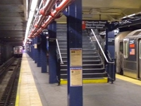 Chambers Street IRT Broadway Seventh Avenue Line
