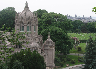 The Chapel At Green-Wood Cemetery