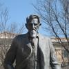 Statue Of Legendary Cattleman Charles Goodnight