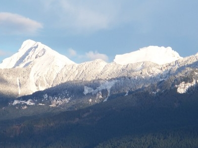 Mount From The Fraser Valley