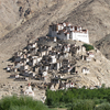 View Of Chemrey Gompa