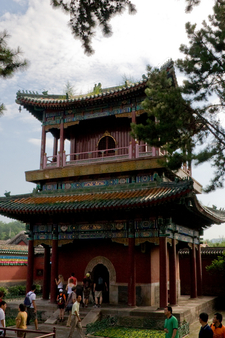 A Chinese Pavilion Of Puning Temple