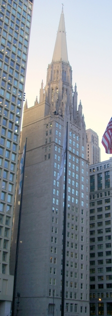 Chicago Temple Building