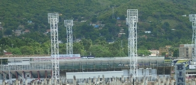 The Stadium From The Distance