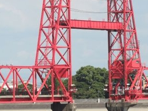 Chikugo río Lift Bridge