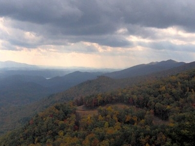 Happy Valley And The Crest Of Chilhowee Mountain