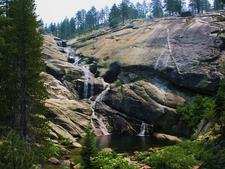 Pool Along The Course Of Upper Chilnualna Falls
