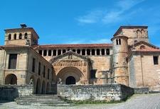 Church Of The Colegiata In Santillana