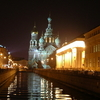 Griboyedov Canal At Night