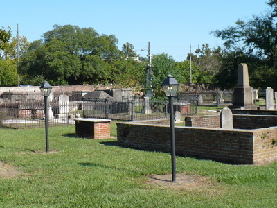 A View Within Church Street Graveyard