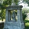A Sculptural Tombstone In Church Street Graveyard