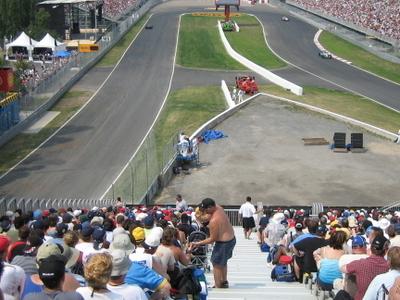 Circuit  Gilles  Villeneuve  Hairpin