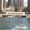 Circular Quay Ferry Wharves From Water
