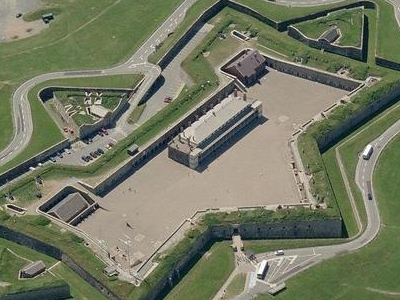 Ariel View Of The Fort