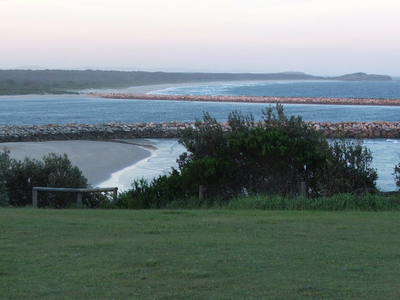 Clarence  River Viewed From  Clarence  Head Lighthouse