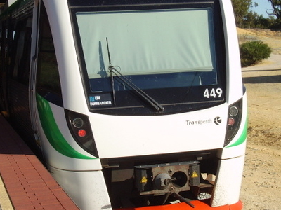 B Series Train At Clarkson