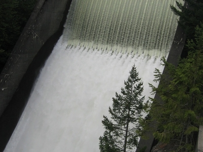 Cleveland Dam From The Front
