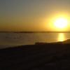 Evening Scene On Clifton Beach