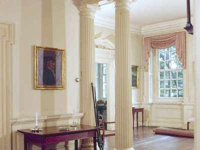 Colonnade In Main Hallway